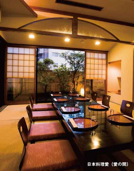 日本料理愛,宴会場
